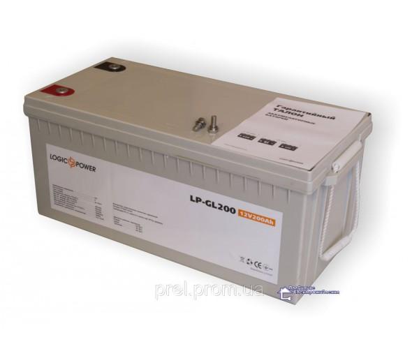 Гелевий акумолятор LogicPower LPM - GL 200 AH