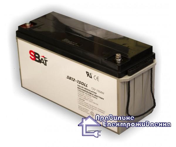 Гелевий акумулятор SB 12-150 LL