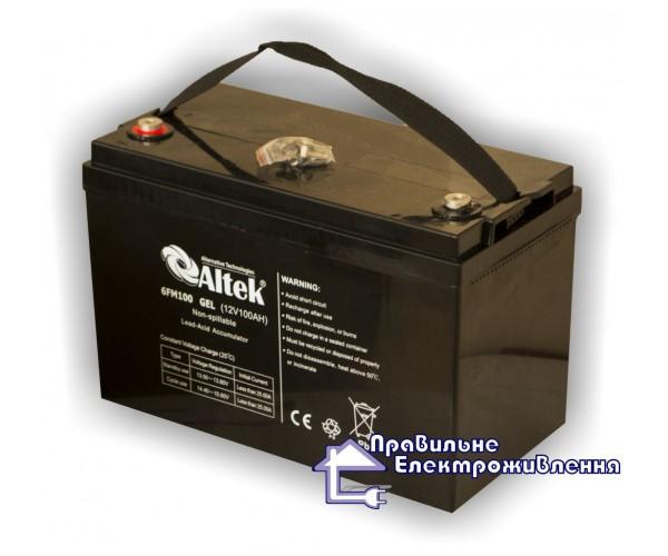 Аккумуляторная батарея Altek 6FM100