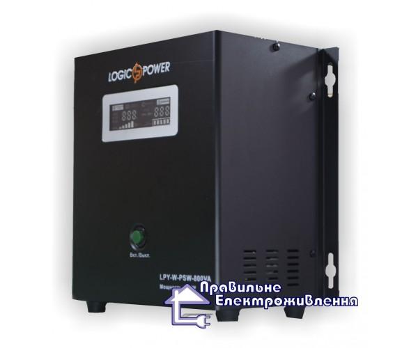 Блок безперебійного живлення Logicpower LPY-W-PSW-800VA