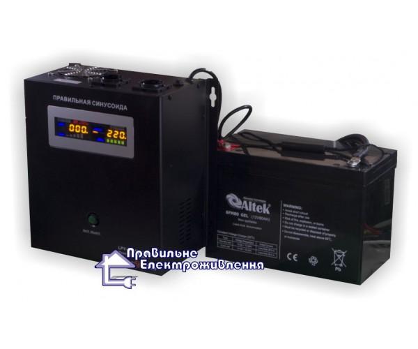 Джерело безперебійного живлення Logicpower LPY-W-PSW-500VA+ ( 350Вт, 12В )