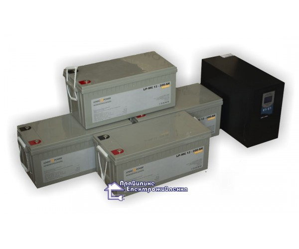 Блок безперебійного живлення LogicPower PSW-6000 VA