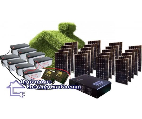 """Сонячний комплект електростанції """"Вільний"""" 5 кВт*год"""