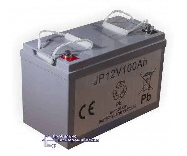 Акумулятор мультигелевий KM Battery JP100 100Ah 12V