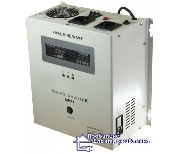 Інвертор + контролер SOLAR INVERTER 1000VA, 12V MPPT30A