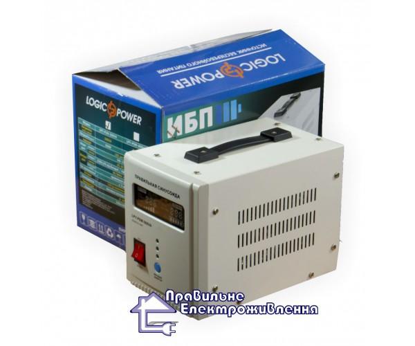 Безперебійний блок з модифікованою синусоїдою  LogicPower LPY-MSW 1000VA