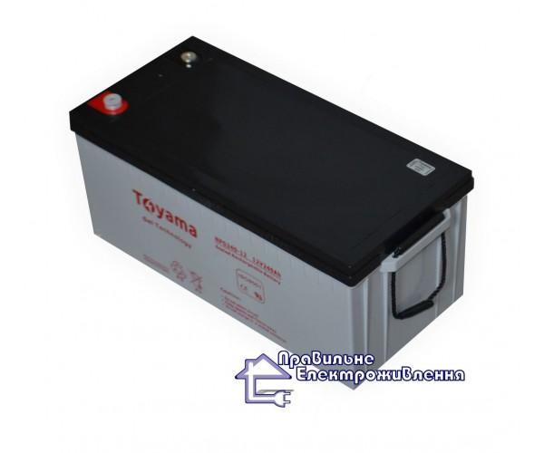 Акумулятор гелевий Toyama NPG240-12 (12V, 240AH) GEL