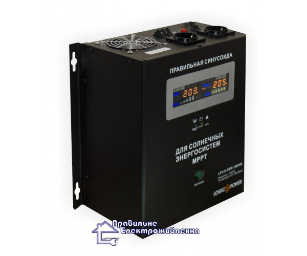 Інвертор напруги + MPPT контролер LPY-C-PSW-2000VA
