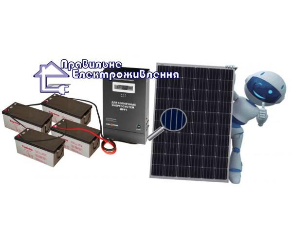 """Сонячний комплект електростанції """"Оптимальний"""" 2360 Вт*год"""