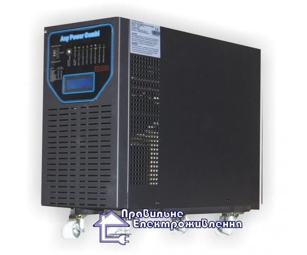 Інвертор APSV 6000 Вт + MPPT контролер 40 А, 48В