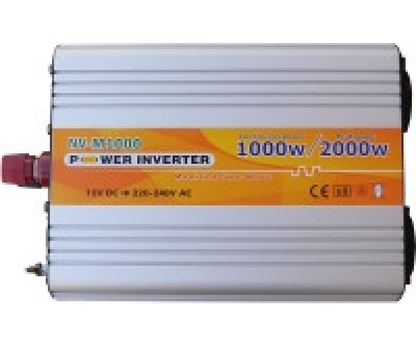 Інвертор NV-M1000Вт/12В-220В