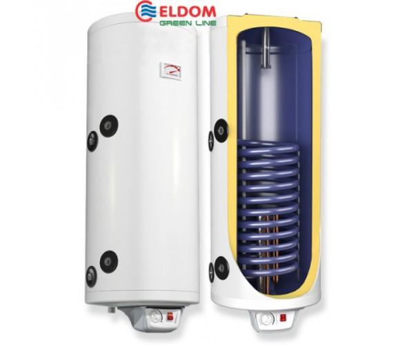 Акумуляційний бак 150 літрів Eldom 72280S та 72280SR (ТЕН 3 кВт + 2шт анод)