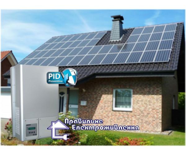 Сонячна електростанція «ЗЕЛЕНИЙ ТАРИФ» 10 кВт*год