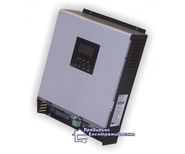 Гібридний інвертор ( ДБЖ ) 3000ВА, 48В + МППТ контролер 50А, Axpert MKS 3К-48