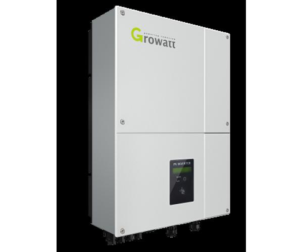 Мережевий інвертор Growatt 5000UE (5кВт, 3-фазний, 2 МРРТ)