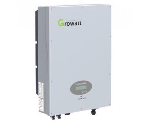 Мережевий інвертор GROWATT 6000UE (6кВт, 3-фазний, 2 МРРТ)