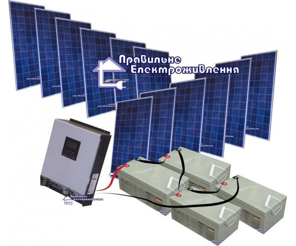 "Сонячна електростанція ""Основна"" 4кВт*год"