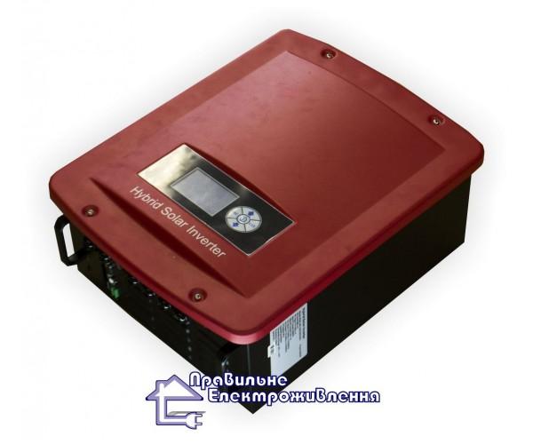 Гібридний мережевий інвертор LogicPower HE2K-48V-220 ( 2 кВт, 24 В )