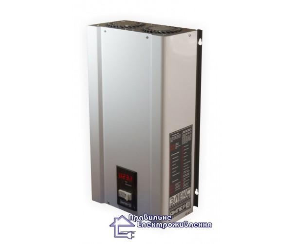Стабілізатор напруги Елекс Ампер 12-1/63 А (14 кВт) V 2.0