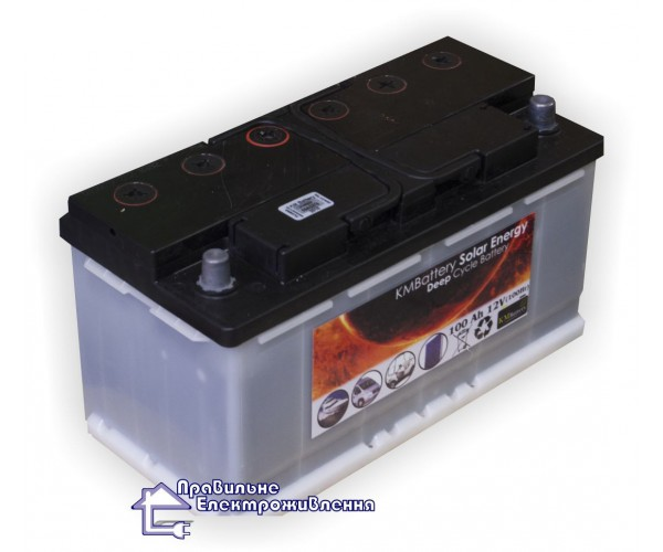 Акумуляторна батарея KMBattery KMB 12-85 (85 А год)