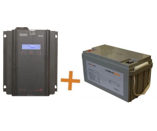Система резервного живлення ДБЖ+АКБ 6-8 год автономної роботи
