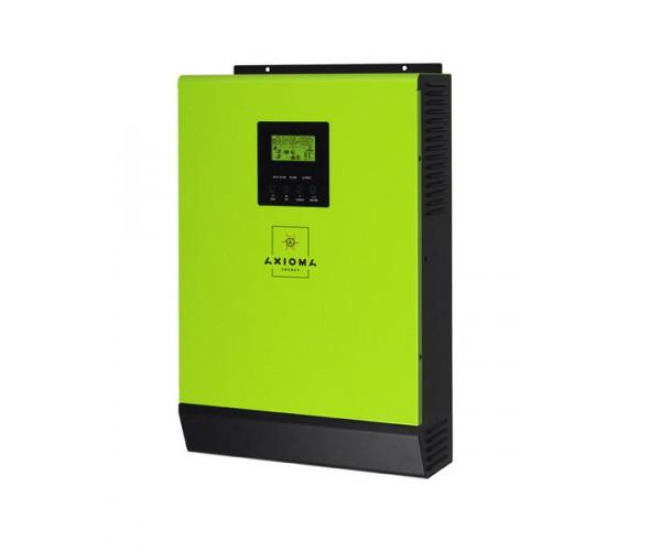 Мережевий сонячний інвертор з резервної функцією AXIOMA energy ISGRID 2000, 2кВт, 24В