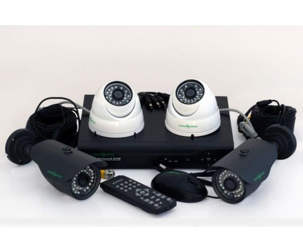 Комплект системи відеонагляду Green Vision GV-K-M 6304DP-CM02