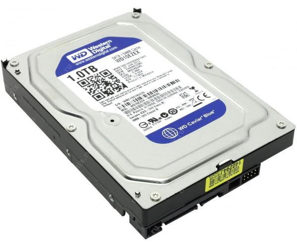 Жорсткий диск Western Digital Синій 1TB 5400rpm 64MB WD10EZRZ 3.5 SATAIII