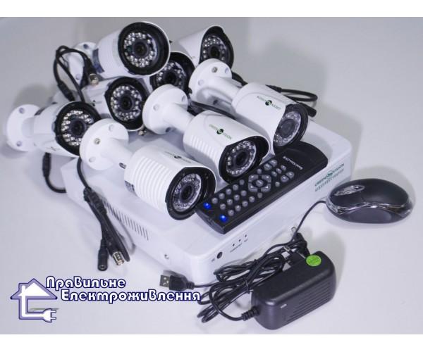 Комплект системи відеонагляду Green Vision GV-K-G02/04 720Р