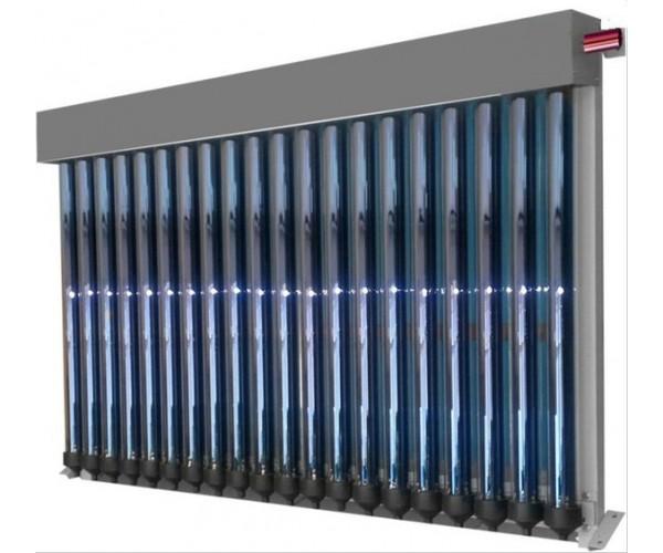 Вакуумний сонячний колектор СВК-20 балконного типу (без задніх опор)