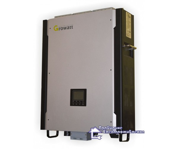 Інвертор гібридний GROWATT 10000HY ( 10кВ, з функцією резерва )