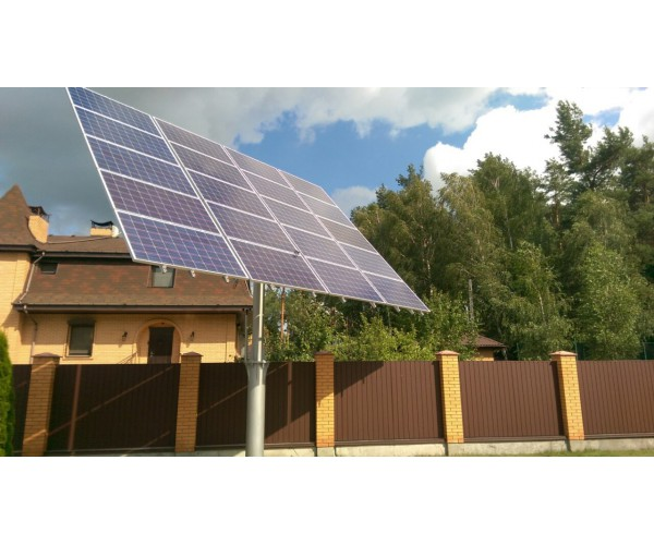 Сонячний трекер ST 1200.2 на 20 фотомодулів