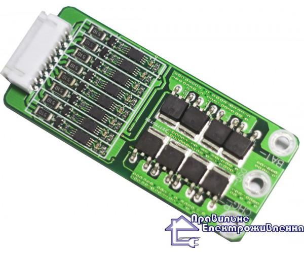 Схема BMS для LiFePo4 акумулятора (24 В) 40 А